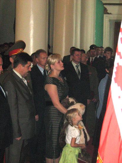 Жена и дочь Романа Катасонова
